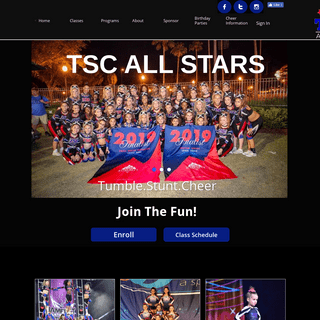 A complete backup of tristatecheer.com