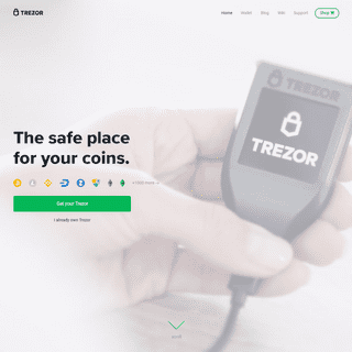 Trezor Hardware Wallet (Official) - The original and most secure hardware wallet.