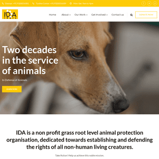 In Defense Of Animals India - Animal Rights Organization India