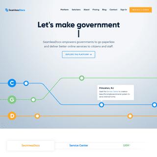 SeamlessGov - The Future of Government