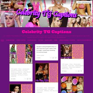Celebrity TG Captions