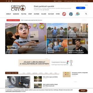 OrosCafé - Friss hírek, zacc nélkül! --- orosházi hírek, orosházi programok, orosházi fotók