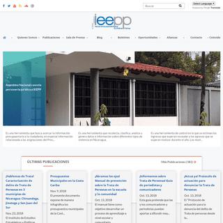 Instituto de Estudios Estratégicos y Políticas Públicas - IEEPP
