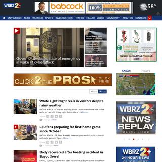 WBRZ-TV Channel 2 Baton Rouge, LA