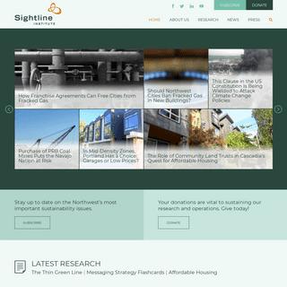 Home - Sightline Institute