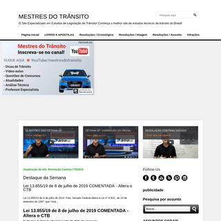 ArchiveBay.com - mestresdotransito.com.br - MESTRES DO TRÂNSITO