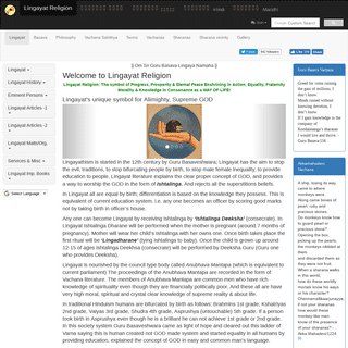 ArchiveBay.com - lingayatreligion.com - Lingayat Religion