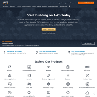 ArchiveBay.com - awscloud.com - Amazon Web Services (AWS) - Cloud Computing Services