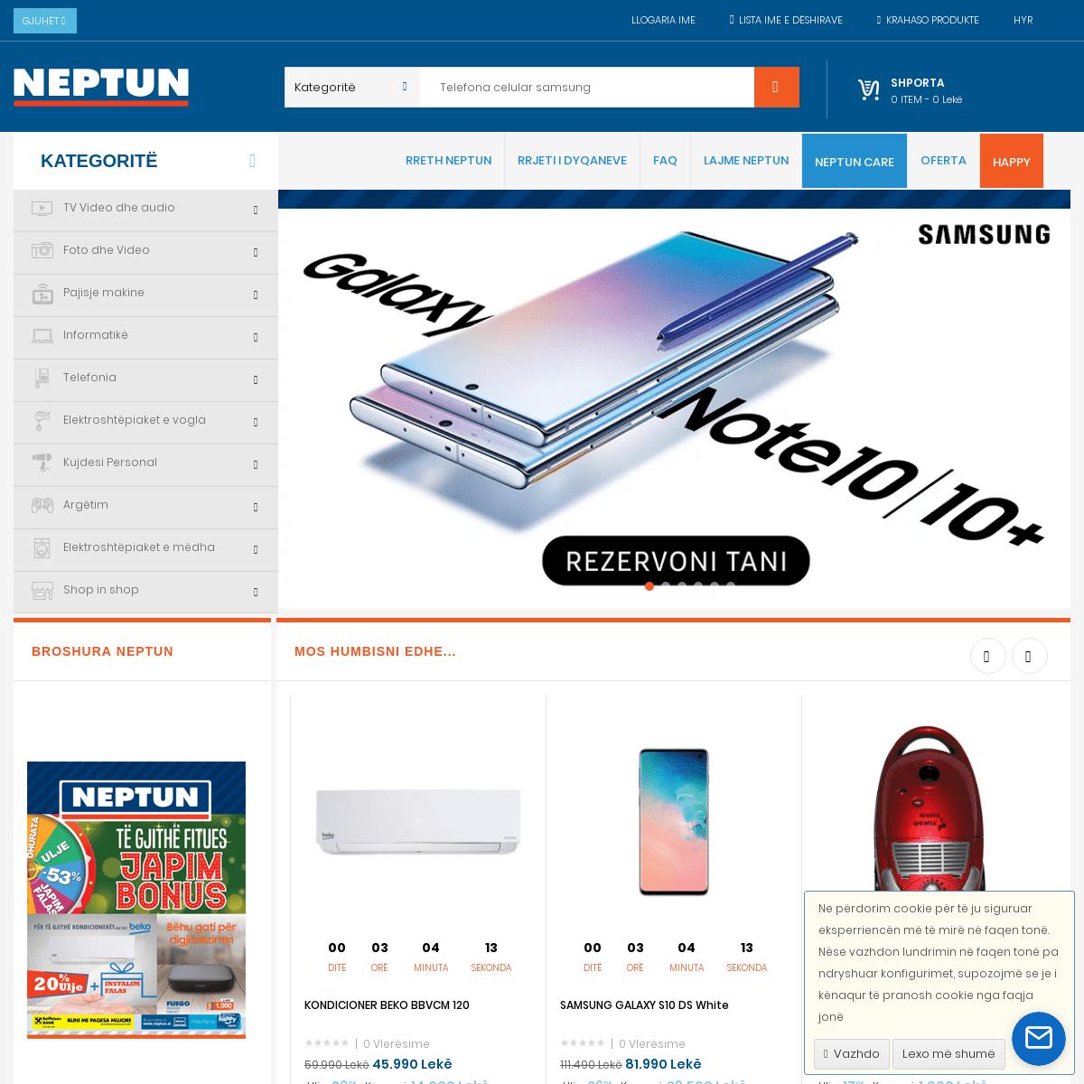 Bli online elektroshtepiake - Neptun