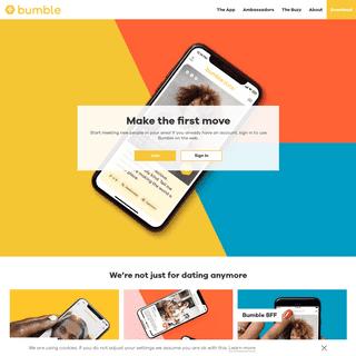 Bumble - Date, Meet, Network Better