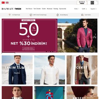 Damat Tween - Online Shop