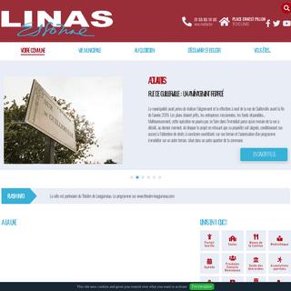Site officiel de la commune de Linas