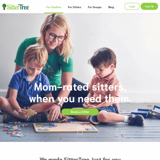 ArchiveBay.com - thesittertree.com - SitterTree - Mom-rated babysitters near you