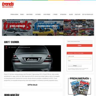 Trends Magazines - Śledzimy trendy w motoryzacji - BMW, VW, reszta świata. Trends are Your Friends!