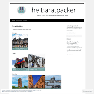 The Baratpacker - on the look for local spots and cheap eats