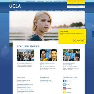 A complete backup of ucla.edu
