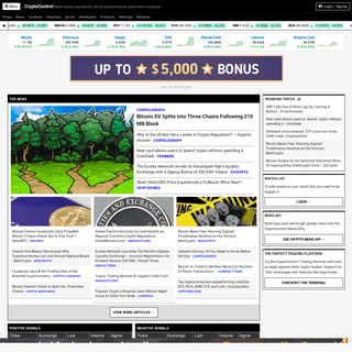 Cryptocurrency News & Trading Platform - CryptoControl