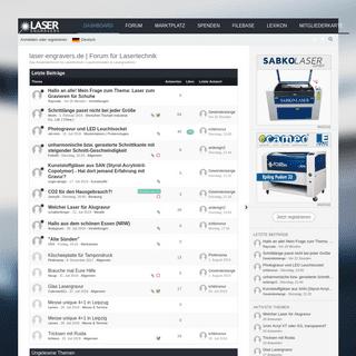 laser-engravers.de - Forum für Lasertechnik
