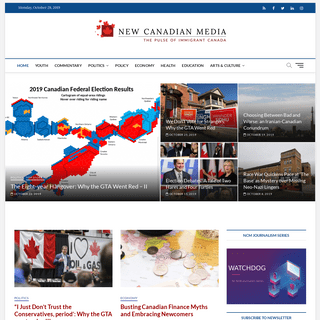 New Canadian Media - The pulse of immigrant Canada