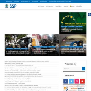 SSP – Secretaria de Segurança Pública do Estado de Goiás