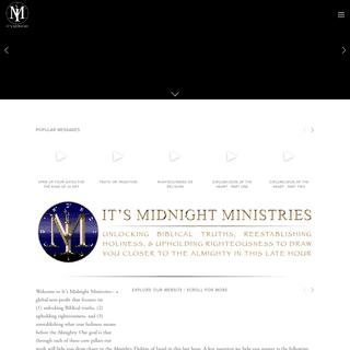 ArchiveBay.com - itsmidnight.squarespace.com - It's Midnight Ministries