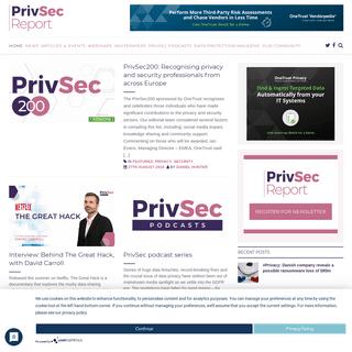 ArchiveBay.com - gdpr.report - Home - PrivSec Report
