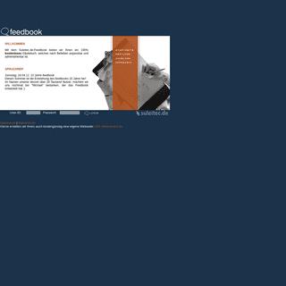 feedbook - Ihr Gästebuch Service