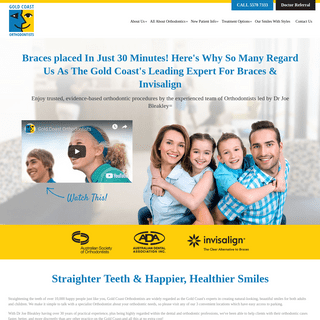Gold Coast Orthodontists - Specialists In Braces and Invisalign - Home