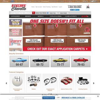 Classic Chevy Chevelle Parts For Sale - Chevrolet Malibu Parts - Ecklers Chevelle Parts