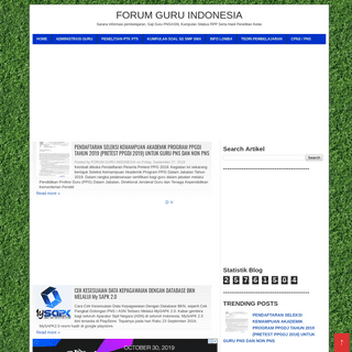 FORUM GURU INDONESIA - FORUM GURU INDONESIA