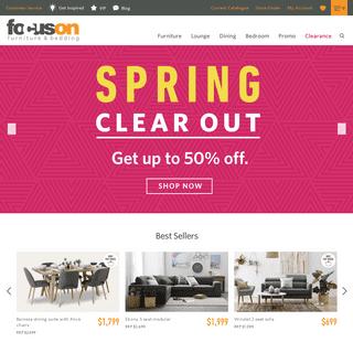 Furniture - Lounge Suites - Furniture Stores - Focus on Furniture