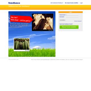 feedbaxx - Startseite