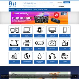 Sklep komputerowy Bit Computer