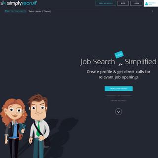 ArchiveBay.com - simplyrecruit.in - SimplyRecruit® - Home