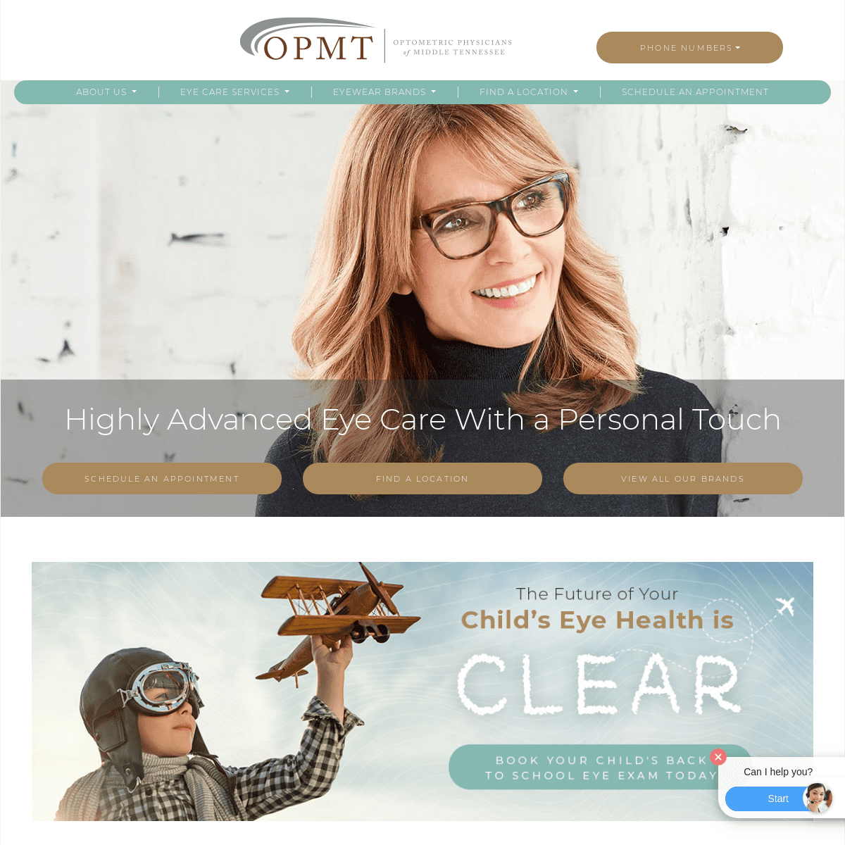 Advanced Eye Care With A Personal Touch In Middle Tennessee