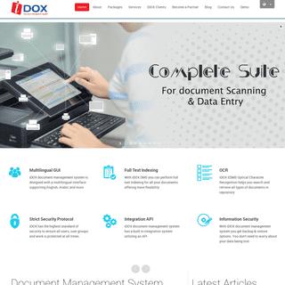 iDOX - Best Document Management System