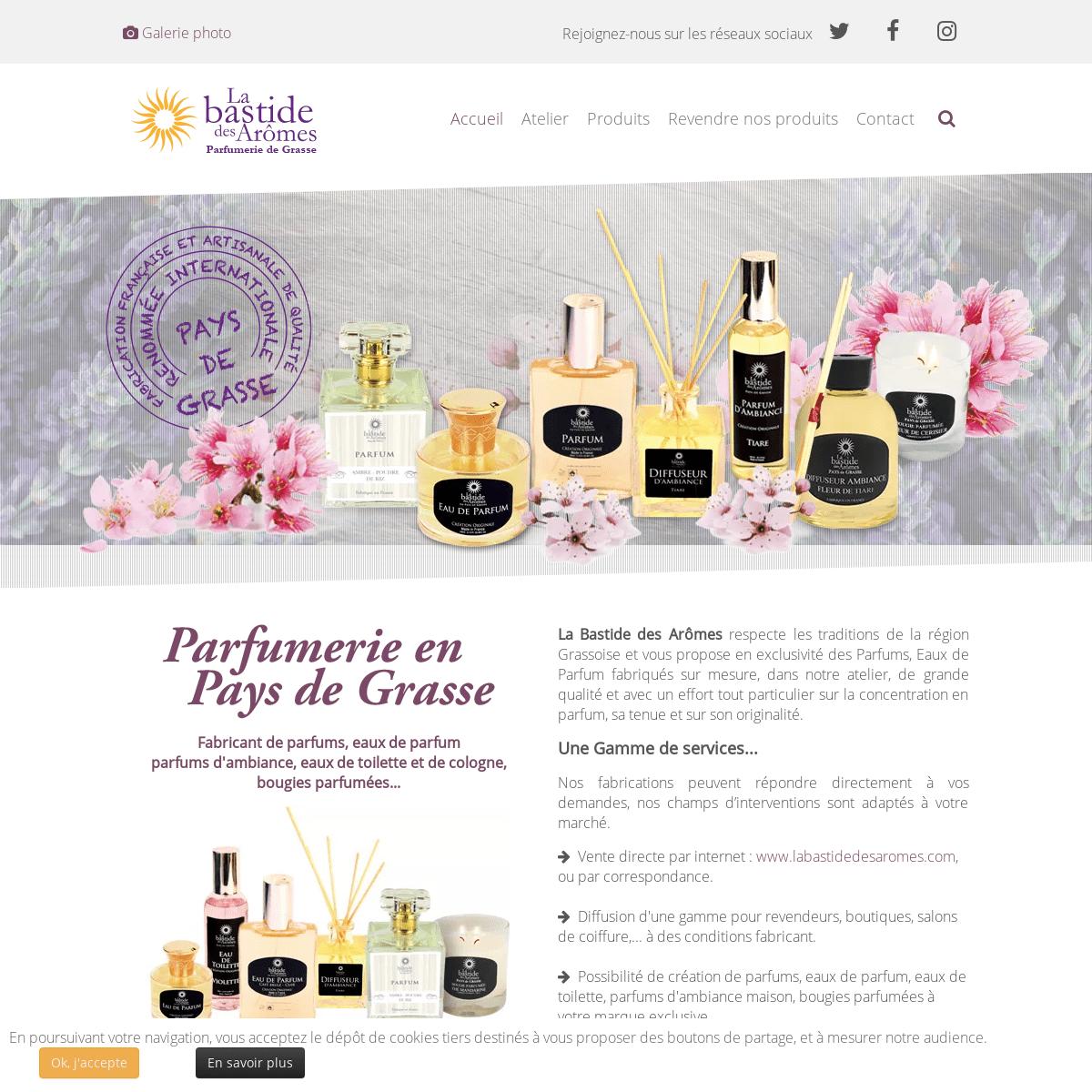 ArchiveBay.com - parfumerie-de-grasse.fr - Parfumerie de Grasse