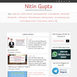 Nitin Gupta - Great People Plus Great Plan Guarantees Great Success