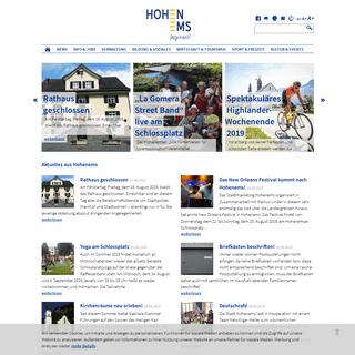 Stadt Hohenems - Stadtverwaltung Hohenems