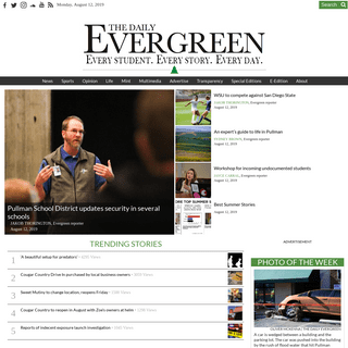 ArchiveBay.com - dailyevergreen.com - The Daily Evergreen – Every student. Every story. Every day.