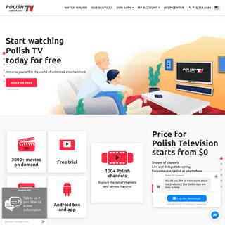 Polish TV Online - Polish TV Company