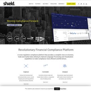 ArchiveBay.com - shieldfc.com - Shield Financial Compliance - Moving Compliance Forward.