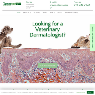 Dermvet Skin & Ear Clinic - Veterinary Dermatologist Leicester