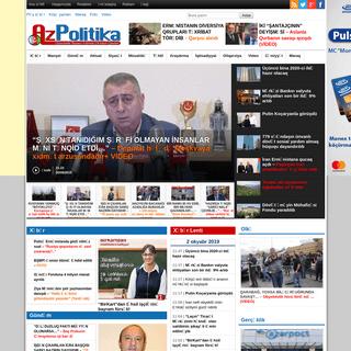 AzPolitika – onlayn siyasi-ictimai qəzet