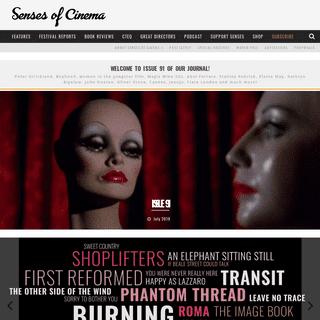 Senses of Cinema film journal • Senses of Cinema