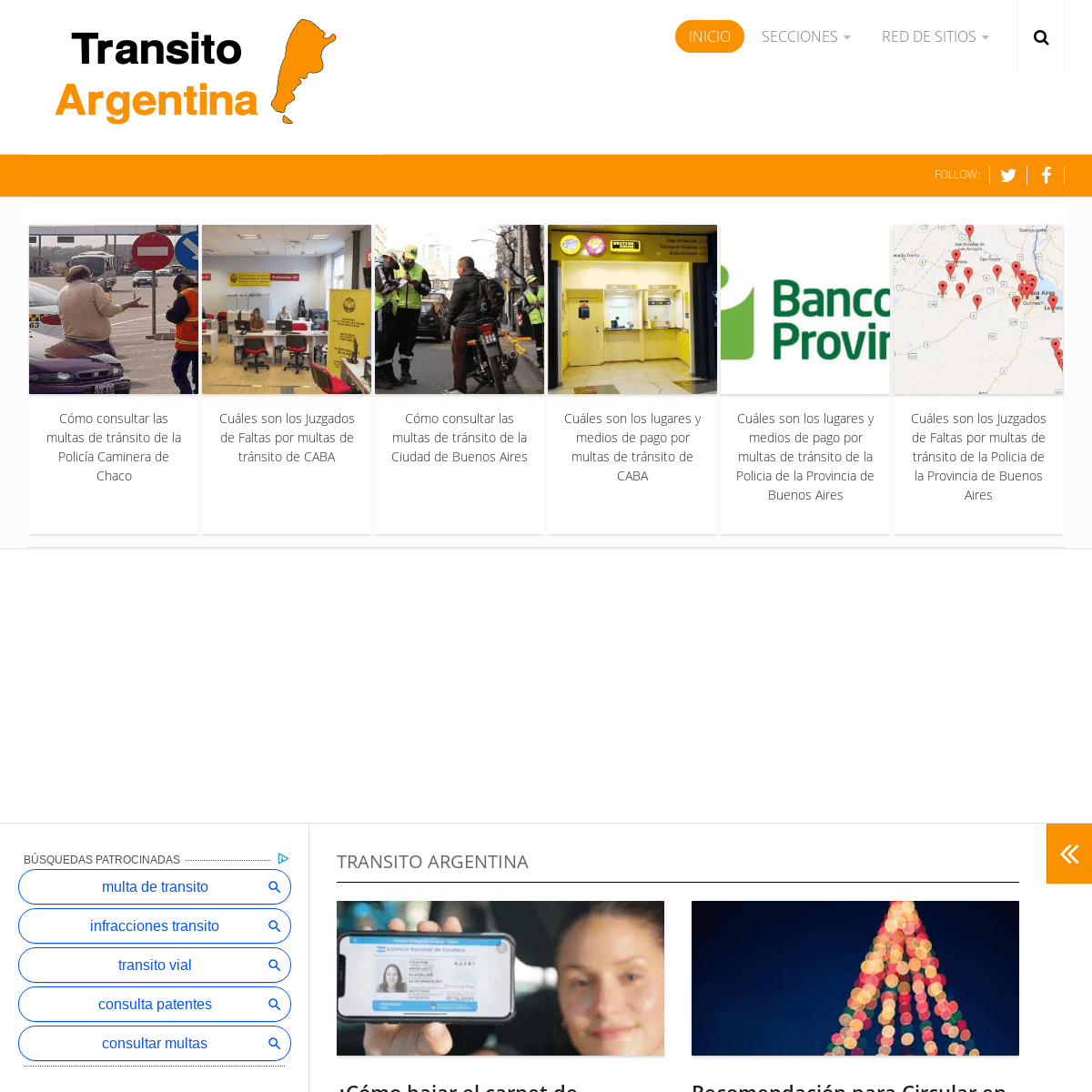 Transito Argentina – MULTAS - VTV - AUTOMOTORES - SEGURIDAD VIAL