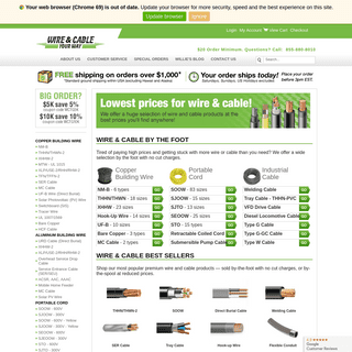 ArchiveBay.com - wireandcableyourway.com - Wire & Cable Your Way - Electrical Wire By the Foot