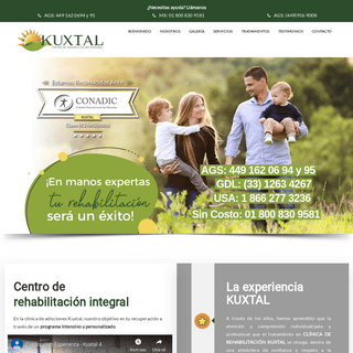 ArchiveBay.com - clinicaderehabilitacion.com.mx - Clínica Kuxtal Aguascalientes