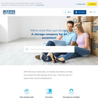 ArchiveBay.com - accessstorage.com - Secure Self Storage Solutions and Storage Units - Access Self Storage