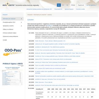 ArchiveBay.com - ko.sk - IRIS Ident, s.r.o.